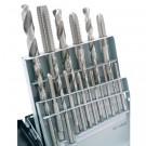 18 PIECE HIGH SPEED STEEL M2.5-M12 TAP & DRILL COMBO SET (1011-0020)