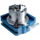 """4"""" SUPER RAPID INDEXER WITH 3 JAW CHUCK (3900-2414) - MADE IN TAIWAN"""