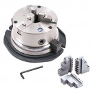 """6"""" 3-JAW SELF-CENTERING ROTARY CHUCK (3900-2416) - MADE IN TAIWAN"""