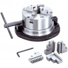 """8"""" 4-JAW SELF-CENTERING ROTARY CHUCK (3900-2418) - MADE IN TAIWAN"""