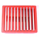 """1/8 X 6"""" 10 PAIR PARALLEL SET WITH 1/2 TO 1-5/8 RANGE (3900-3010)"""
