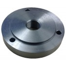 """4"""" 1""""-10 THREADED BACKPLATE FOR 3 JAW CHUCKS  (3900-3211)"""