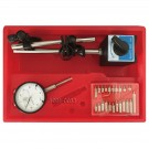3 PIECE TOOL KIT WITH INDICATOR, POINT SET & MAGNETIC BASE (4902-0012)