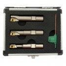 """3 PIECE 1/2"""" SQUARE SHOULDER INDEXABLE END MILL SET (5822-0360)"""